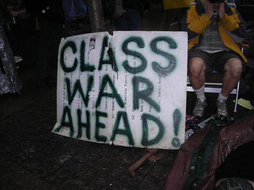ows sign class war ahead
