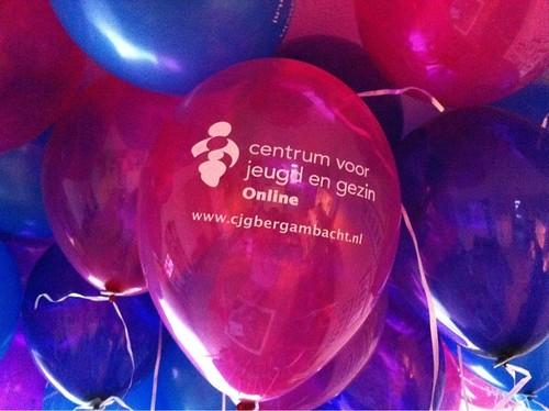 Heliumballonnen Bedrukt CJG Alblasserdam