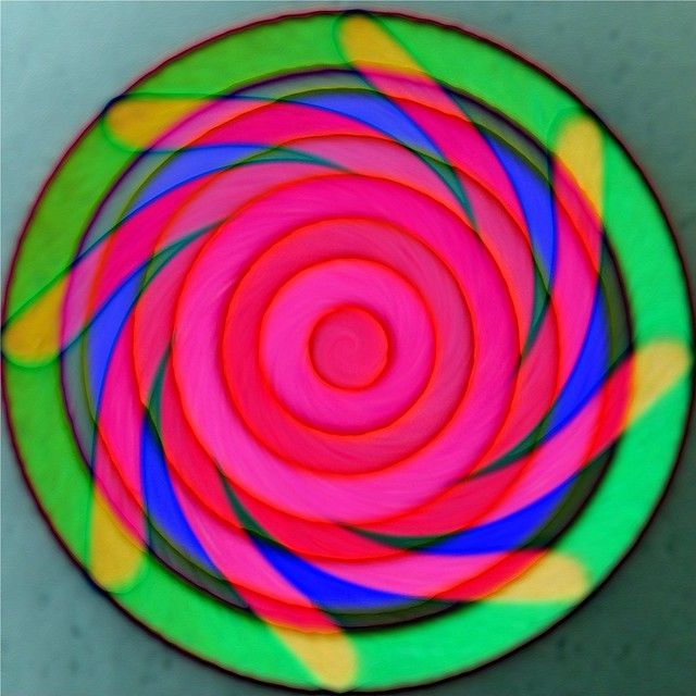 Spiral make me forget the red wine