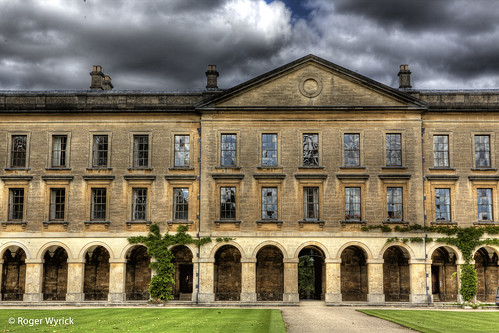 The New Building At Magdalen College