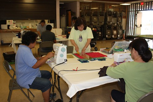 Begining Quilting and Patchwork at Ho'ae'ae Park
