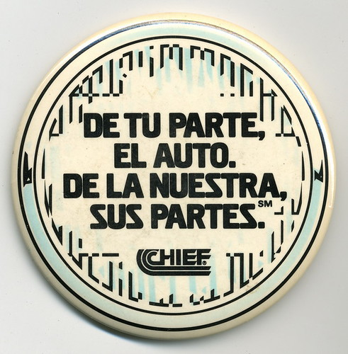 Chief Auto Parts - De tu parte, el auto.  De la nuestra sus partes