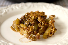 Apple Crisp - full of flavor & a delicious, crunchy topping