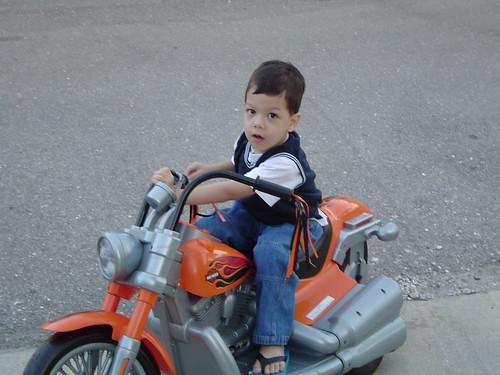 Harley Davidson bike by Rina BentoSchoolLunches