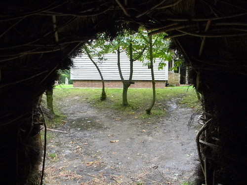 View from a mesolithic hut