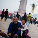 Boy and Grandfather at Tiananmen Square