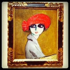 French flapper by Kees van Dongen