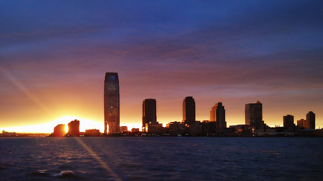 Jersey City Sunset Thursday Evening - Droid 3