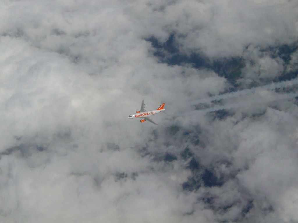 EasyJet Below