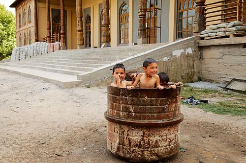 people boys children muslim islam religion places mosque tajikistan tajik rasht tjk gharm