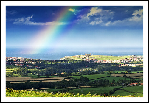 Rainbow Over Whitby