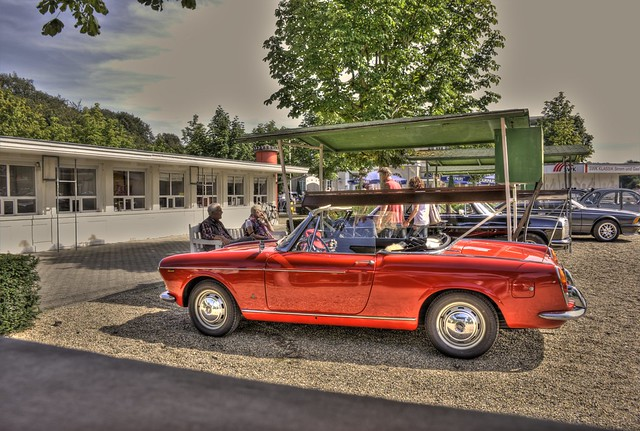 fiat 124 cabrio early model flickr photo sharing. Black Bedroom Furniture Sets. Home Design Ideas