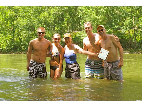 River adventure with Groupon