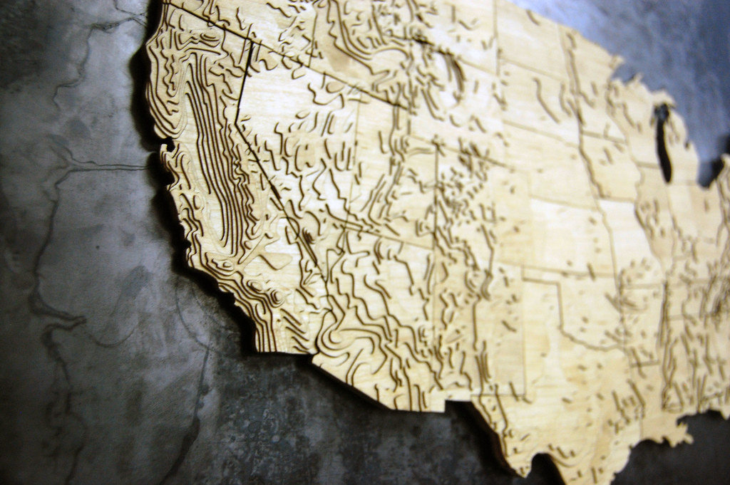 Laser Cut World Map.Laser Cut Magnet Map Crafted By Greg Jones Adx Portland Flickr