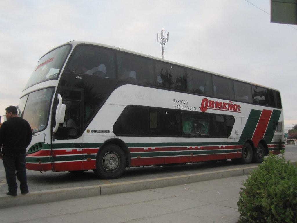 Ormeno Bus to Peru