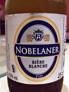 52 beers 4 - 01, Lidl, Nobelaner Blanche, France