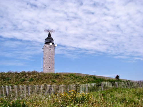 Cap gris nez, La Boucle Du Cap 12, een mooie wandeling, Vuurtoren, In Explore op 22-09-2011 # 058