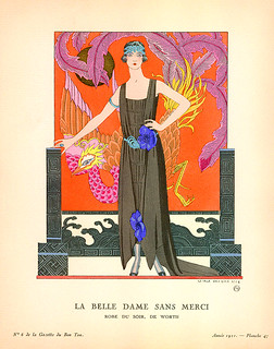 La Belle Dame Sans Merci by George Barbier