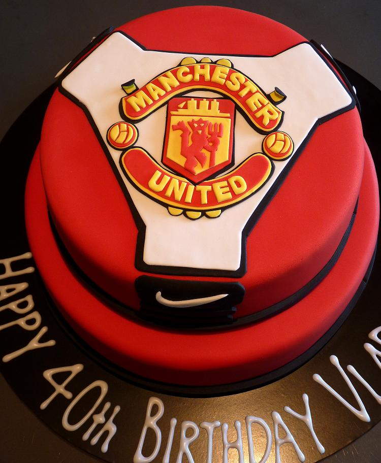 how to make a manchester united logo out of fondant