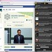 Facebook Ticker & Tweetdeck