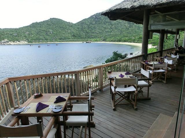 朝食(buffet breakfast)シックス センシズ ニン ヴァン ベイ(Six Senses Ninh Van Bay)