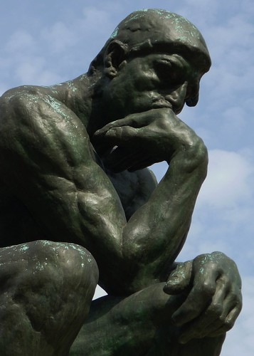 Paris AUG2011 Musee Rodin Thinker 1