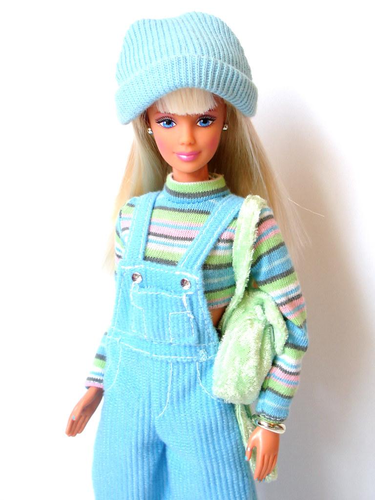 Cool Blue Barbie - 1998