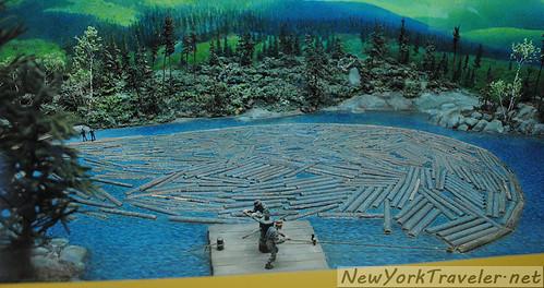 57 Logging Diorama