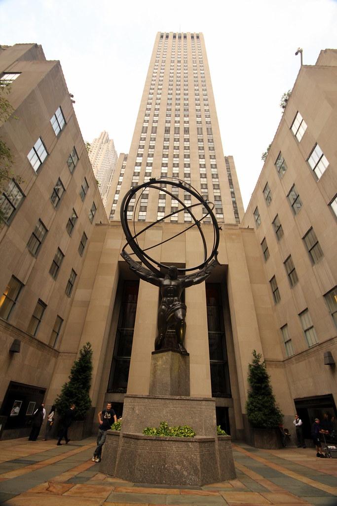 Rockefeller center new york tripomatic for Attractions near new york city