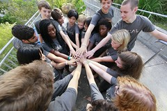 Wrists for Rights is a student led, non- profit organization that raises awareness about children's rights.