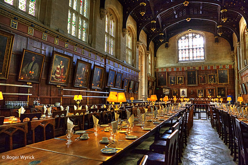 Great Hall Of Christ Church College, Oxford University