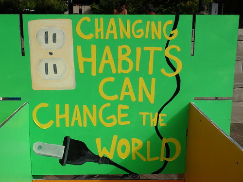 Changing Habits can Change The World