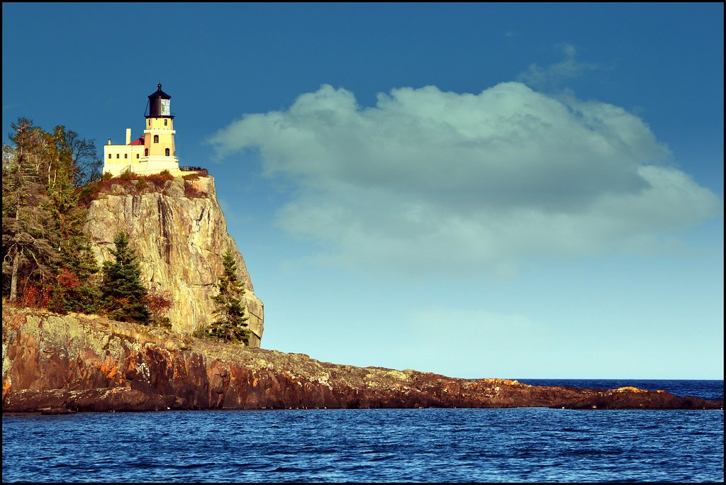 Split Rock Lighthouse, North Shore, Lake Superior, Minnesota