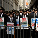 United/Continental pilots march on Wall Street