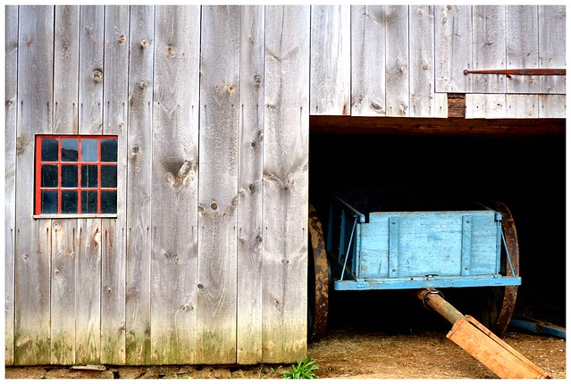 Barn and Wagon, Old Sturbridge Village