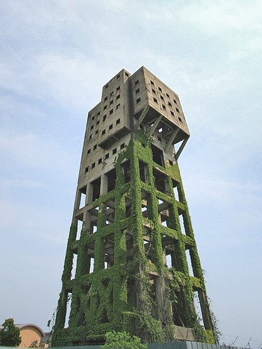 Winding Tower of Shime coal mine
