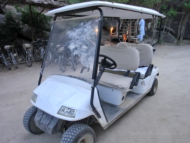 Buggy service - Six Senses Ninh Van Bay