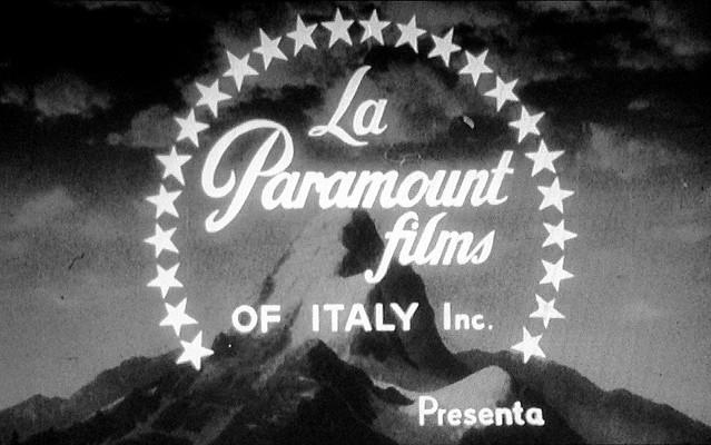 Studio Logo Paramount Films of Italy Inc. 1963