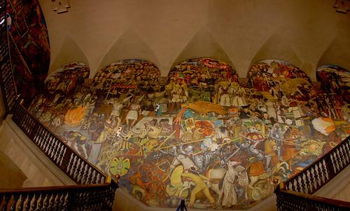Flickriver photoset 39 smart photoset 39 by victor muruet for Diego rivera mural palacio nacional