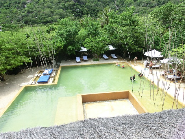 Main pool - Six Senses Ninh Van Bay