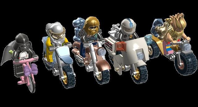 Ldd bike rider template lego digital designer and other for Lego digital designer templates