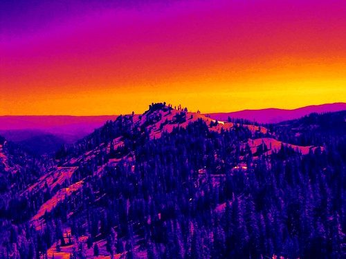california mountains vivid enhanced cascaderange lassenvolcanicnationalpark