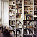 Source Unknown {vintage eclectic rustic industrial library}