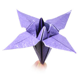 how to make a traditional origami iris flower flickr