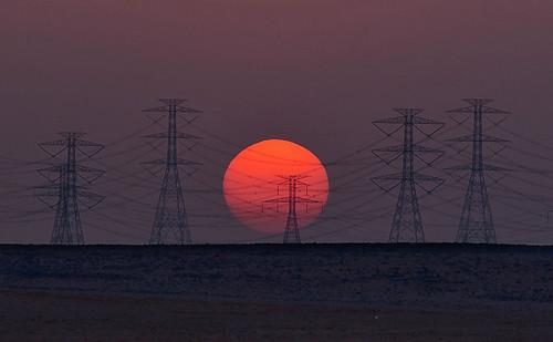 sunset landscape desert saudiarabia ksa 5dmarkii 70200mmf28isiiusm