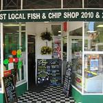 Fish and chip shop at Llandudno