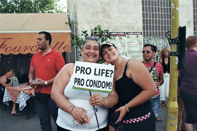 Gay Pride Roma - Pro Life - Pro Condom 2