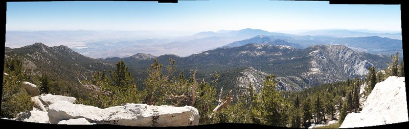 Marion Mountain East Summit panorama