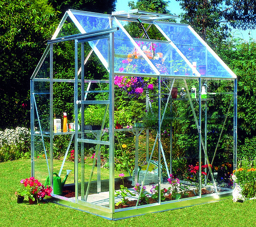 Greenhouse Eden Acorn 5ft wide Silver Greenhouse