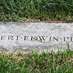 Grave of Robert Peary - closeup of headstone - Arlington National Cemetery - 2011